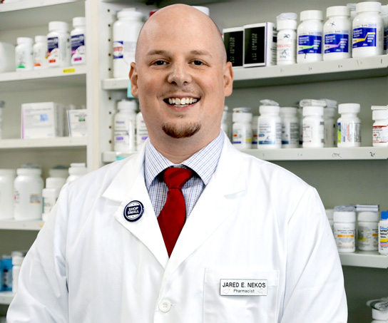Jared Nekos Pharmacist/Owner