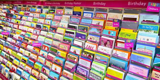 Greeting Cards Rack