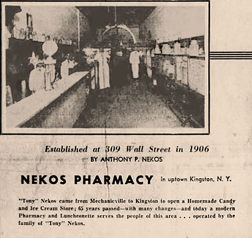Nekos 1906 Newspaper Clipping
